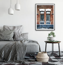 Load image into Gallery viewer, Old Architectural Window In Brick Building Art Photo