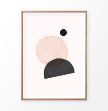 Load image into Gallery viewer, Mid-century Geometry Wall Art