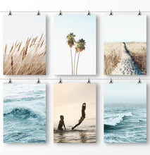 Load image into Gallery viewer, Set of 6 Printed and Shipped Sea Art