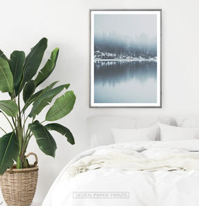 Lake Wall Art Set 3 Piece Nature Prints