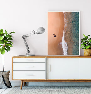 Beach Wall Art Set of 6 Oceanic Prints