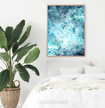 Load image into Gallery viewer, Ocean Waves 3 Piece Wall Art with Splashing Coastal Water