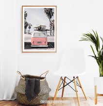 Load image into Gallery viewer, California Beach Art Set of 6 Coastal Prints