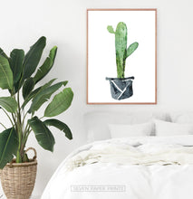 Load image into Gallery viewer, Cactus Wall Art Set of 3 Prints for Nursery