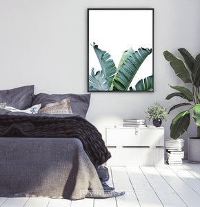 Banana Leaf Botanical Wall Art