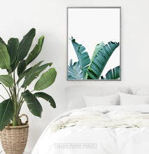 Load image into Gallery viewer, Banana Leaf Botanical Wall Art