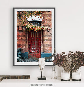 Architecture Doorway Set of 3 Digital Prints
