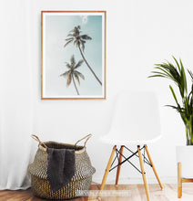 Load image into Gallery viewer, Coastal Palm Trees Summer Beach Wall Art