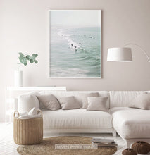 Load image into Gallery viewer, Ocean Waves Surfing Wall Art Print