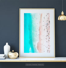 Load image into Gallery viewer, Large Ocean Waves Photo Wall Art