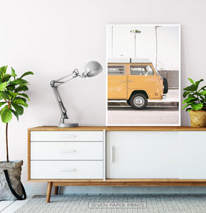 California Coast Surf Art Set of 6 Prints