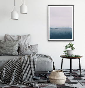 Sea Harbor Photography Wall Art