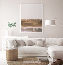 Load image into Gallery viewer, Sunset Ocean Wave Wall Art Print Set of 2