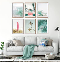 Load image into Gallery viewer, Coastal Wall Art Set of 6 Mailed Prints