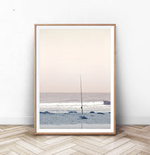 Load image into Gallery viewer, Coastal Fishing Pastel Wall Art