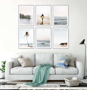 Tropical Sea Photography 6 Piece Wall Art