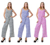 CHH-16117- Women's Summer Print Long Length Sleeveless Jumpsuit (6-PCS PRE-PACK)