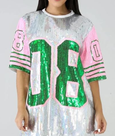 19018...1904- Sequin Jerseys (3 PCS PRE-PACK) - $25.00 Each