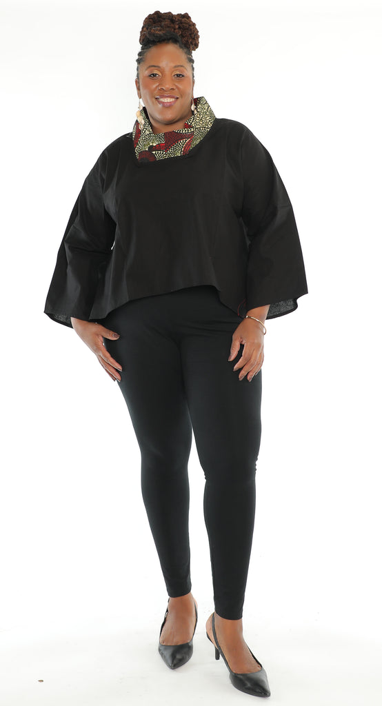 242 -Cow Neck Full Sleeve Top (3/pk) Free Size - ON SALE - $12.00 Each