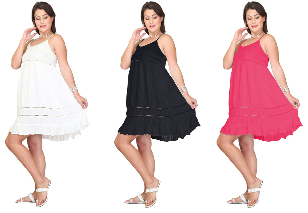 PNA-1115 -Lightweight & Comfortable Casual Cover-Up Dress (6-PCS PRE-PACK)