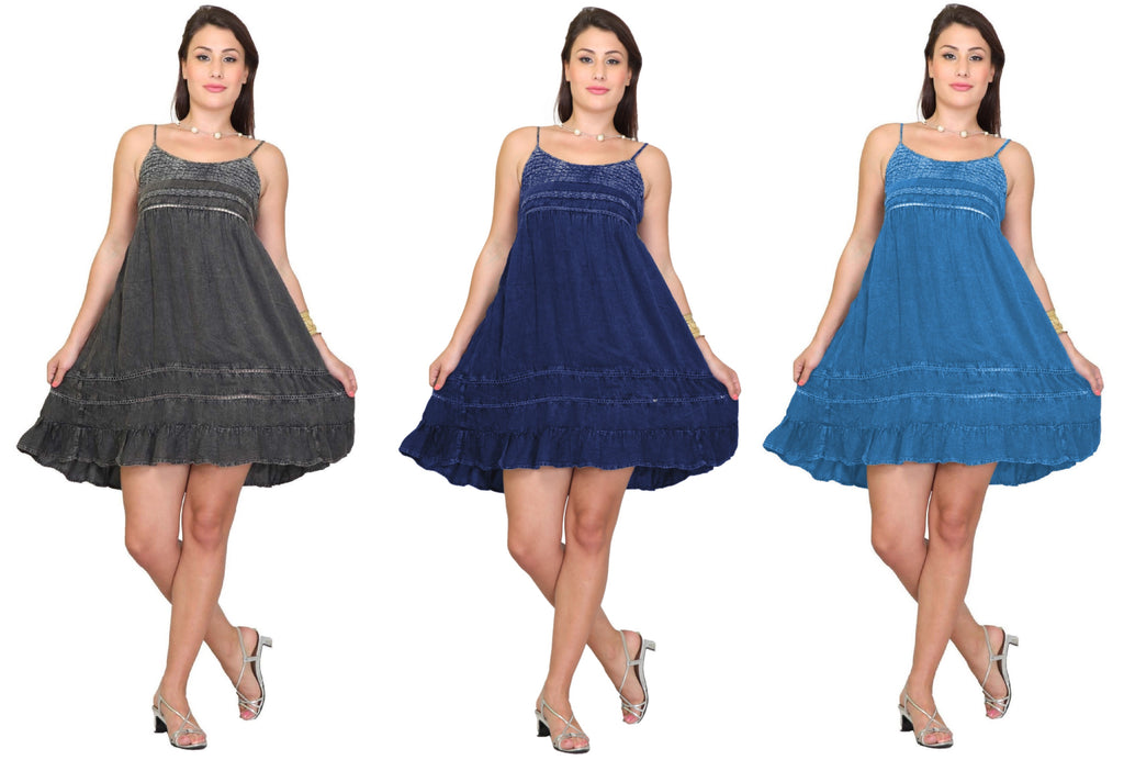 PNA-1116 - Lightweight & Comfortable Casual Cover-Up Dress (6-PCS PRE-PACK)