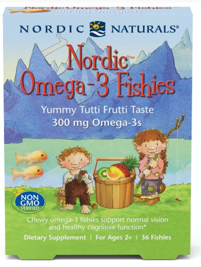 Nordic Omega-3 Fishies 36ct.
