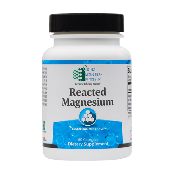 Reacted Magnesium 180ct.