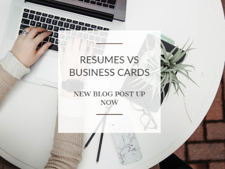 Resumes Vs Business Cards