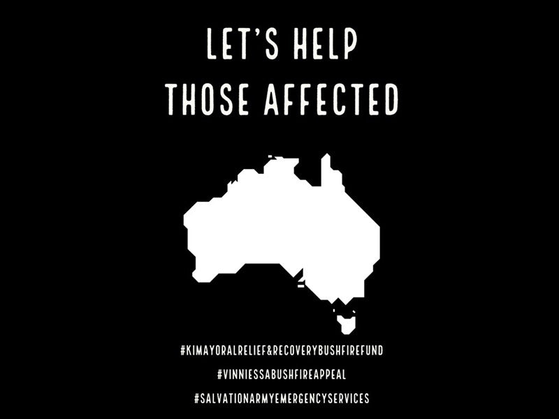 Let's help those affected.