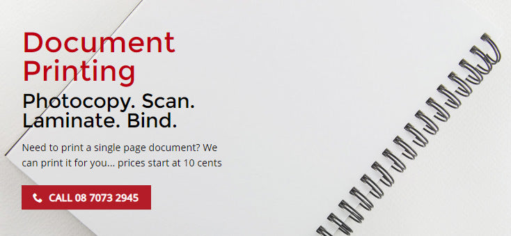 Document Printing Services in Adelaide
