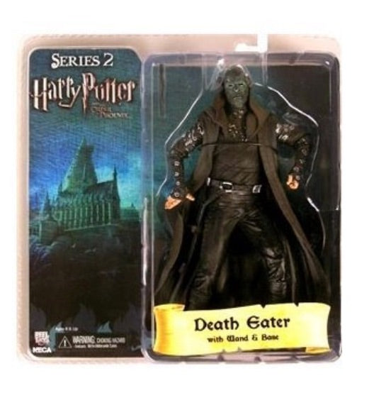 """NECA Harry Potter Death Eater Silver Mask Series 2 7/"""" Action Figure"""