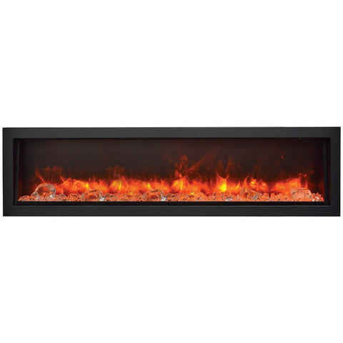 Built-In Indoor/Outdoor Electric Fireplace