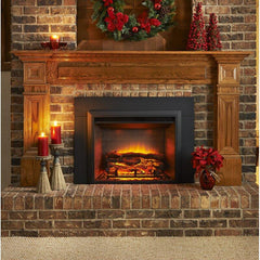 Image of Wall Mounted Electric Fireplace