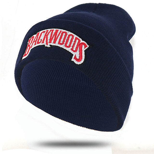 Navy Blue BACKWOODS Beanies - 100% Cotton