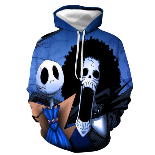 Mens Nightmare Before Christmas Hoodies - Premium-Hoodies.com