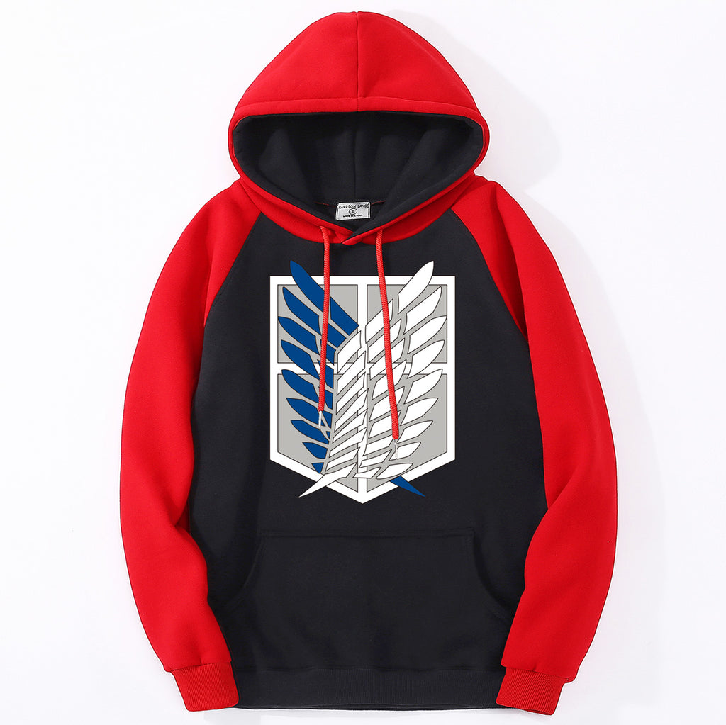 Men's Titan Wings Of Freedom Hoodie - Premium-Hoodies.com