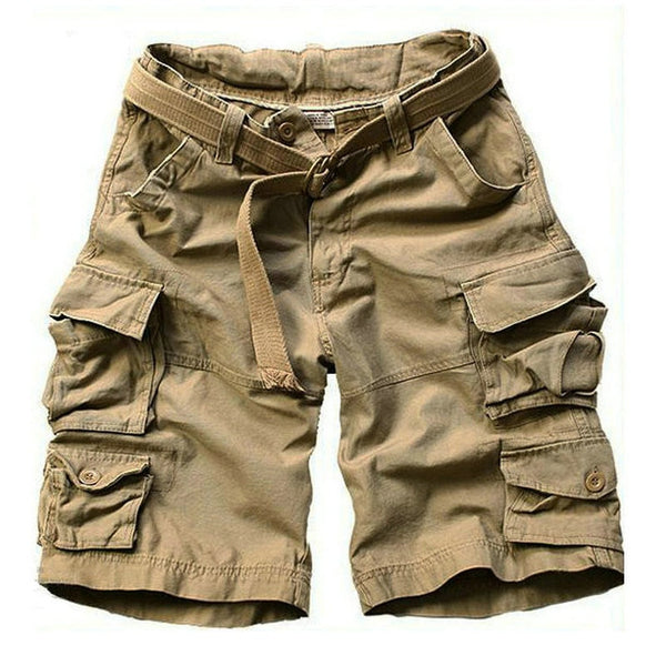 Casual Loose Camo Knee-length Cargo Shorts