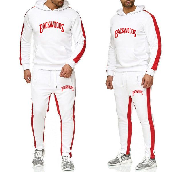 BACKWOODS Sweatsuit Hoodie Set