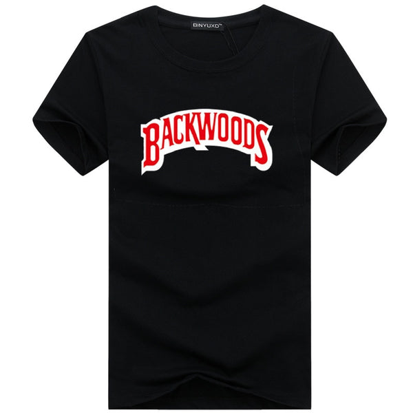 New BACKWOODS Print T-Shirt