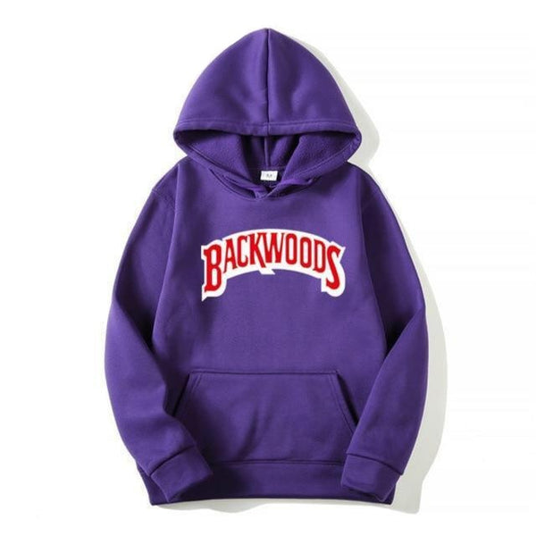 BACKWOODS Purple Hoodie