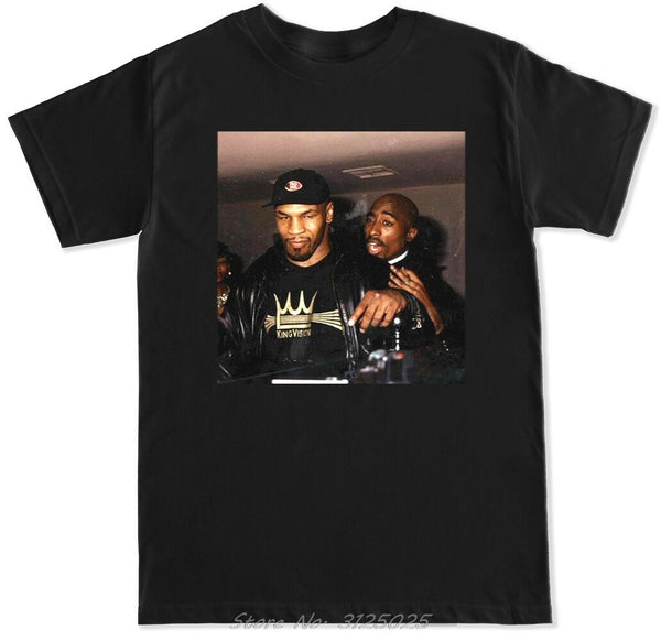 2Pac & Mike Tyson Hip Hop T-Shirt