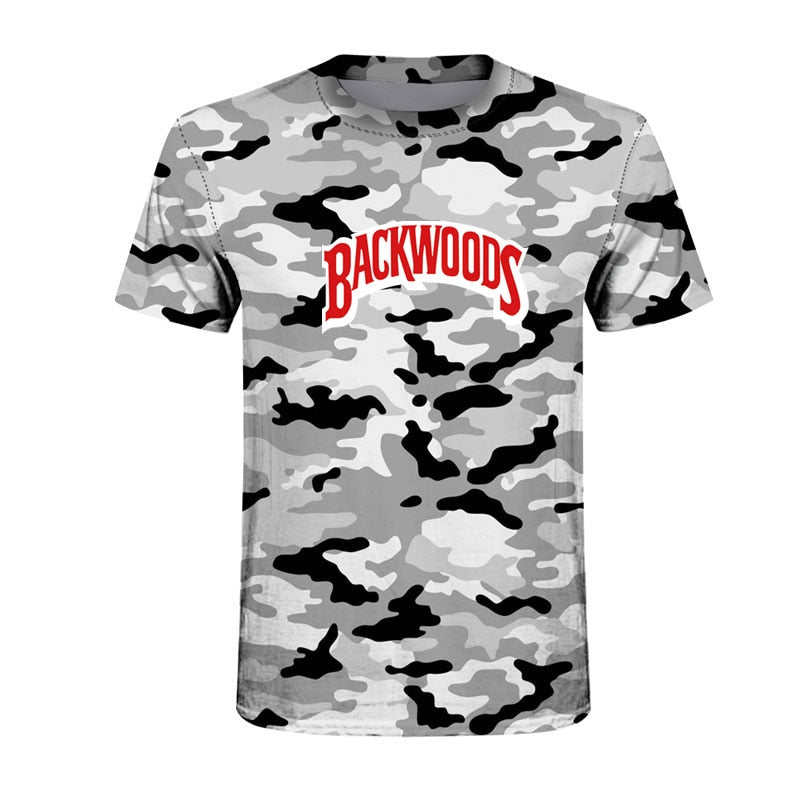 BACKWOODS Camo T-shirt