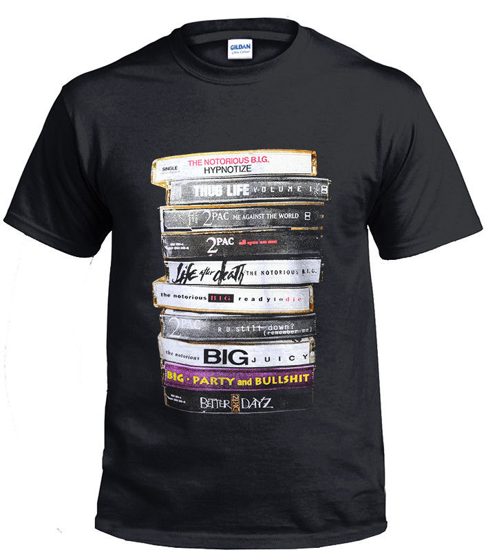 Biggie 2Pac Tapes T-shirt