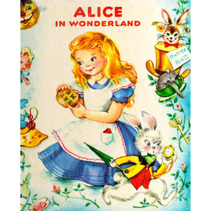 Load image into Gallery viewer, Alice in Wonderland Storybook - Panel