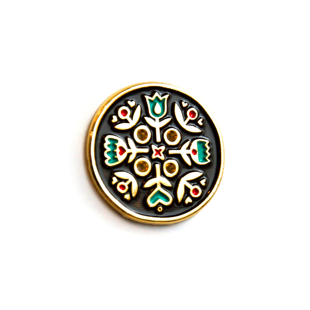 Button - Enamel Pin