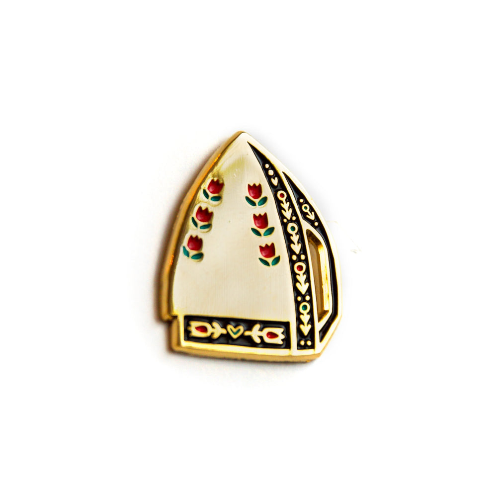 Iron - Enamel Pin