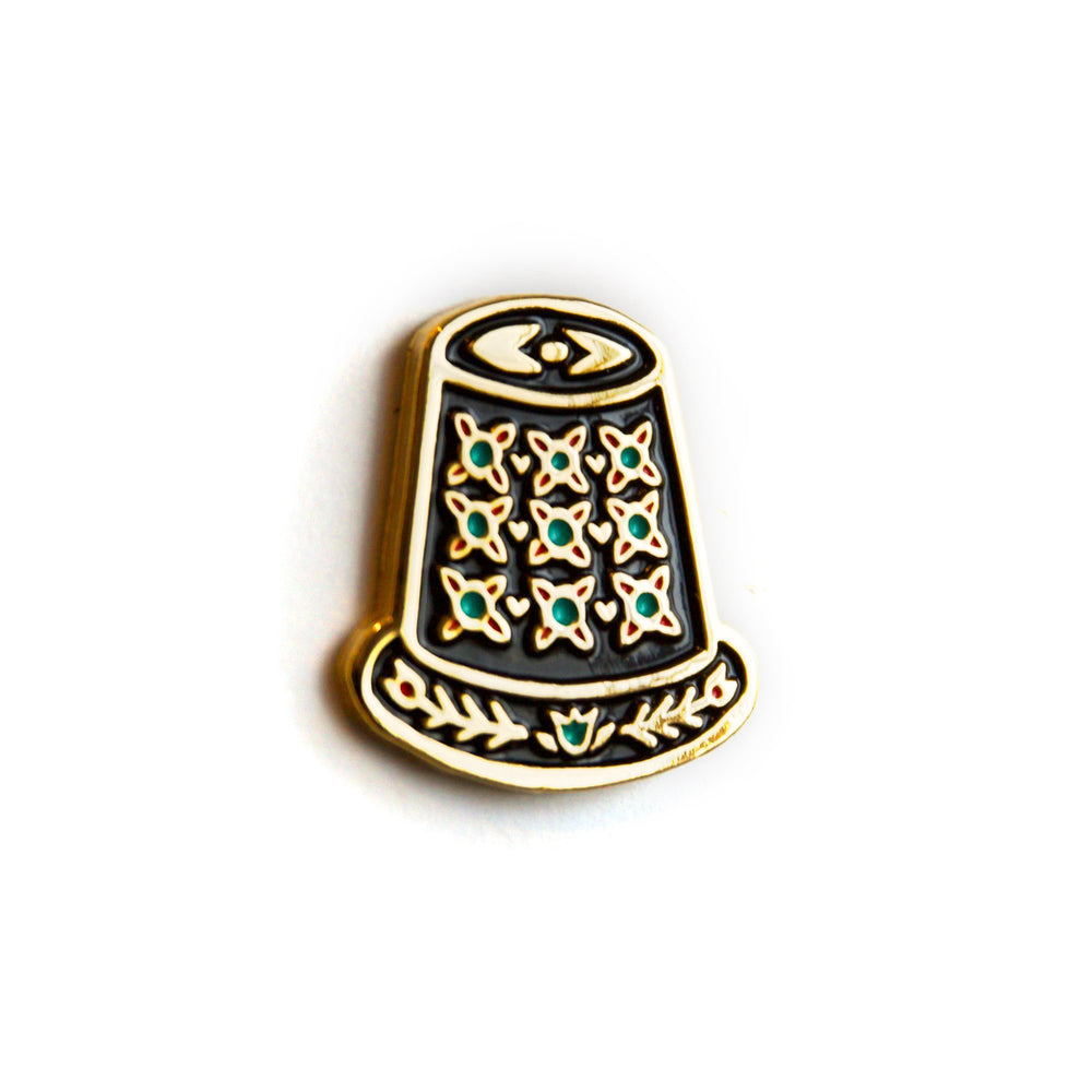 Load image into Gallery viewer, Thimble - Enamel Pin