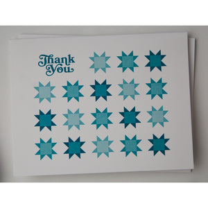 Quilty Thank You Cards - 10 pack