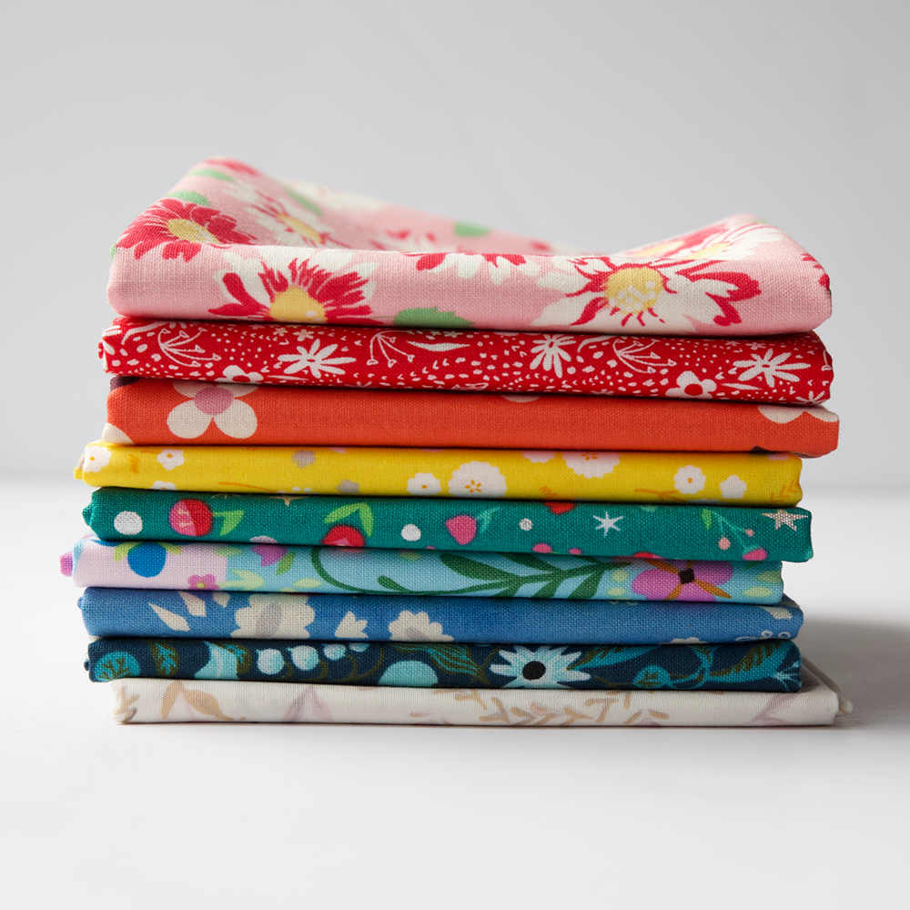 Rainbow Floral - Fat Quarter Bundle