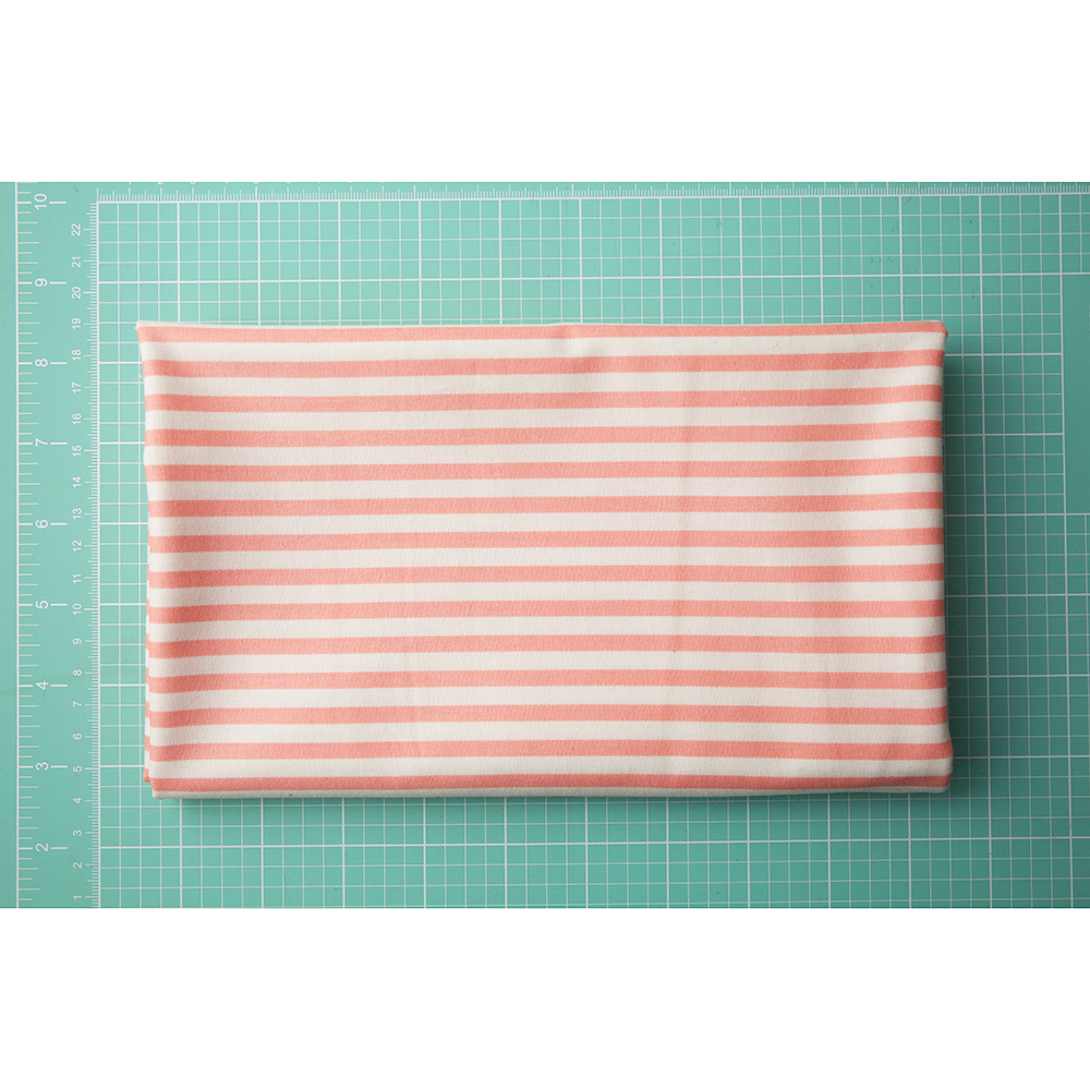 Pink and White Stripe (Essentially Yours) - 1 Yard Cut
